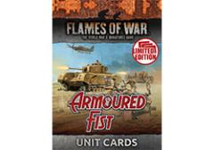 Armoured Fist Unit Cards - Limited Edition