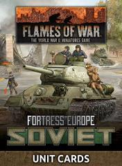 Fortress Europe - Soviet Unit Cards