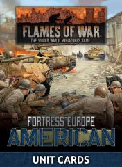 Fortress Europe - American Unit Cards