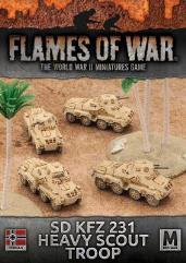 Sd Kfz 231 Heavy Scout Troop