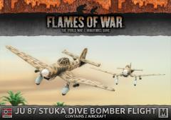 JU 87 Stuka Diver Bomber Flight