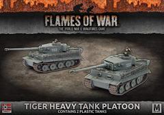 Tiger Heavy Tank Platoon (Plastic)