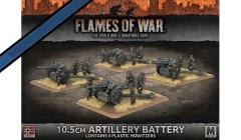 10.5cm Artillery Battery - Howitzers