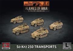 Sd Kfz 250 Transports