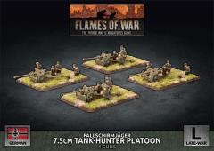 Fallschirmjager 7.5cm Tank Hunter Platoon