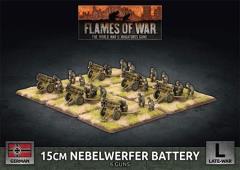 15cm Nebelwerfer Battery