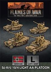 Sd Kfz 10/4 Light AA Platoon