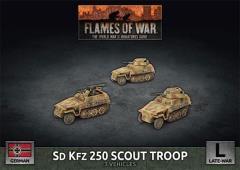 Sd Kfz 250 Scout Troop
