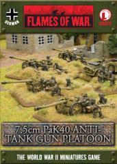 7.5cm PaK40 ATG Platoon