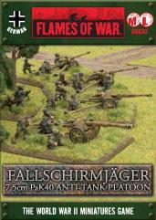 Fallschirmjager 7.5cm PaK40 Anti-Tank Platoon