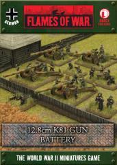 12.8cm K81 Gun Battery