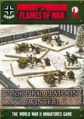 7.5cm PaK40 Platoon (Winter)