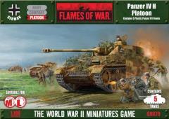 Panzer IV H Platoon (Plastic)