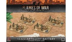 10.5cm Artillery Battery - Guns