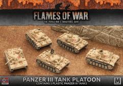 Panzer III Tank Platoon