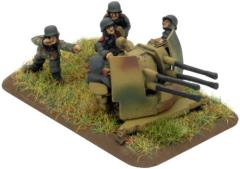 2cm Quad FlaK Gun
