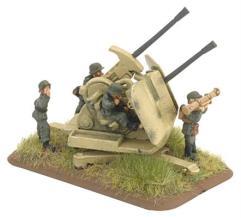 3.7cm FlaKzwilling 43 Gun