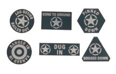 US Armed Forces Token Set