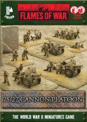 75/27 Cannon Platoon