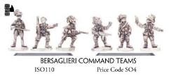 Bersaglieri Command Teams