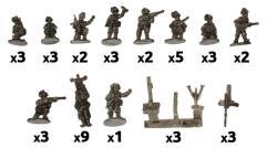 MG & Mortar Platoons (Bersaglieri)