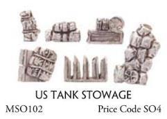 US Tank Stowage