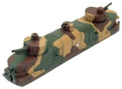 Blitzkrieg - Polish Armored Artillery Train Car