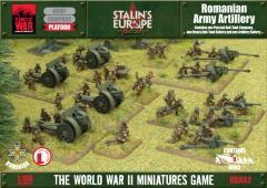 Stalin's Europe - Romanian Army Artillery