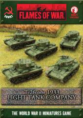T-26 obr 1933 - Light Tank Company