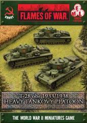 T-28 obr 1933/1938 Heavy Tankovy Platoon