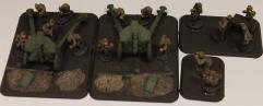 152mm obr 1943 Howitzer & Staff #1