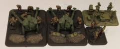 152mm obr 1943 Howitzer & Staff #2