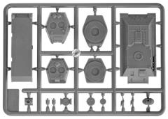 T-34 Body (Plastic)