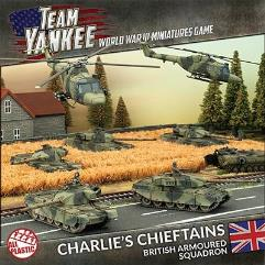 Charlie's Cheiftains - British Armoured Squadron