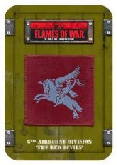 British 6th Airborne Dice & Token Set