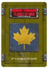 3rd Canadian Division Dice & Token Set
