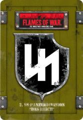 """2. SS-Panzerdivision """"Das Reich"""" Dice & Token Set"""