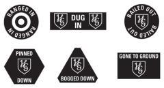 Hermann Goring Division Token Set