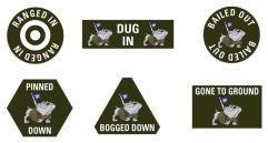 3rd Infantry Division Token Set