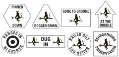 1. Fallschirmjager Division Token Set