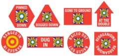 Indian Infantry Division Token Set