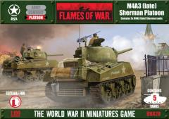 M4A3 (Late) Sherman Platoon (1st Printing)