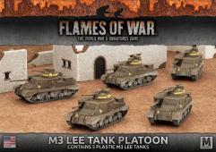 M3 Lee Tank Platoon