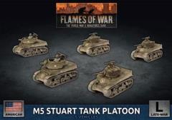 M5 Stuart Tank Platoon