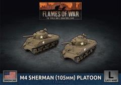 M4 Sherman (105mm) Platoon