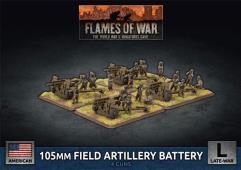 105mm Field Artillery Battery