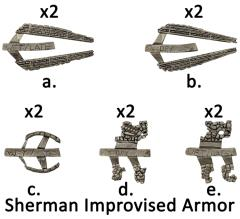 Sherman Improvised Armor
