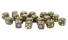 82nd Airborne Division - Dice Set