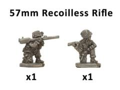 Parachute M18 57mm Recoilless Rifle