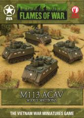 M113 ACAV - Scout Sections